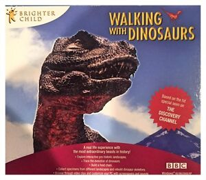 BBC-Walking-With-Dinosaurs-PC-Factory-Sealed-Free-US-Shipping-Win10-8-7-XP-Nice