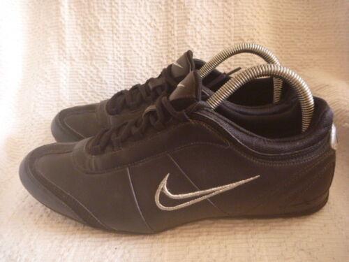 Gym Fitness Taille Alexi 5 taille petite formateurs Cuir 6 Noir Uk Nike qPfxvq