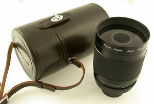 NIKON-Reflex-Nikkor-8-500-500-500mm-F8-8-prime-lens-mint-fast-neu-complete-NKK