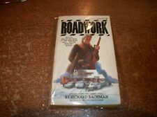 """STEPHEN KING """" ROADWORK """" ONE OF THE BOOKS OF """" THE BACHMAN BOOKS """" HARD TO FIND"""