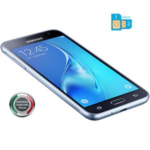 Smartphone-Samsung-J3-2016-BLACK-DUAL-SIM-4G-Gar-24-Mesi-Nuovo-J320-FODERO-TPU