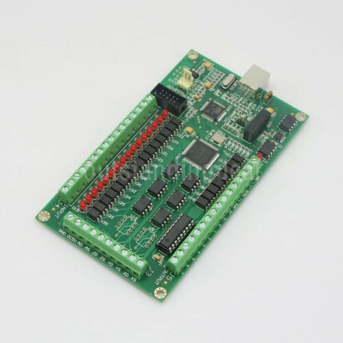 3 Axis CNC USB Card Mach3 200KHz Breakout Board Interface for CNC Milling os12
