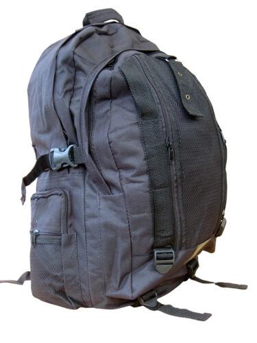 Combat Army Military Rucksack Day Pack Daypack Travel Bag 45L Surplus Black New