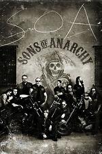 Sons of Anarchy Poster Vintage - Hochformat Plakat zur Serie - 61 x 91,5 cm
