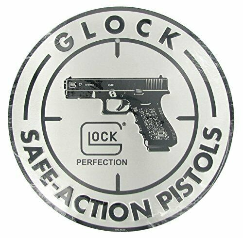 GLOCK Safe Action 12 Inch Diameter Aluminum Sign AD00060 for sale online