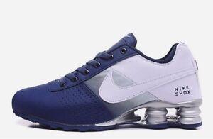 Deliver Scarpe Nuovo Shox uomo da Nike e blu bianco 1lFKcTJ3