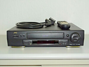 JVC HR-S6611 High-End S-VHS Videorecorder inkl. FB, 2 Jahre Garantie