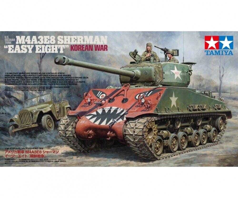 Tamiya US M4A3E8 Sherman Easy Eight Korean - 1 35