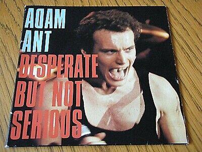 Adam Ant Desperate But Not Serious 7 Vinyl Gatefold Ps Ebay Desperate but not serious performed by annabella lwin see more ». ebay