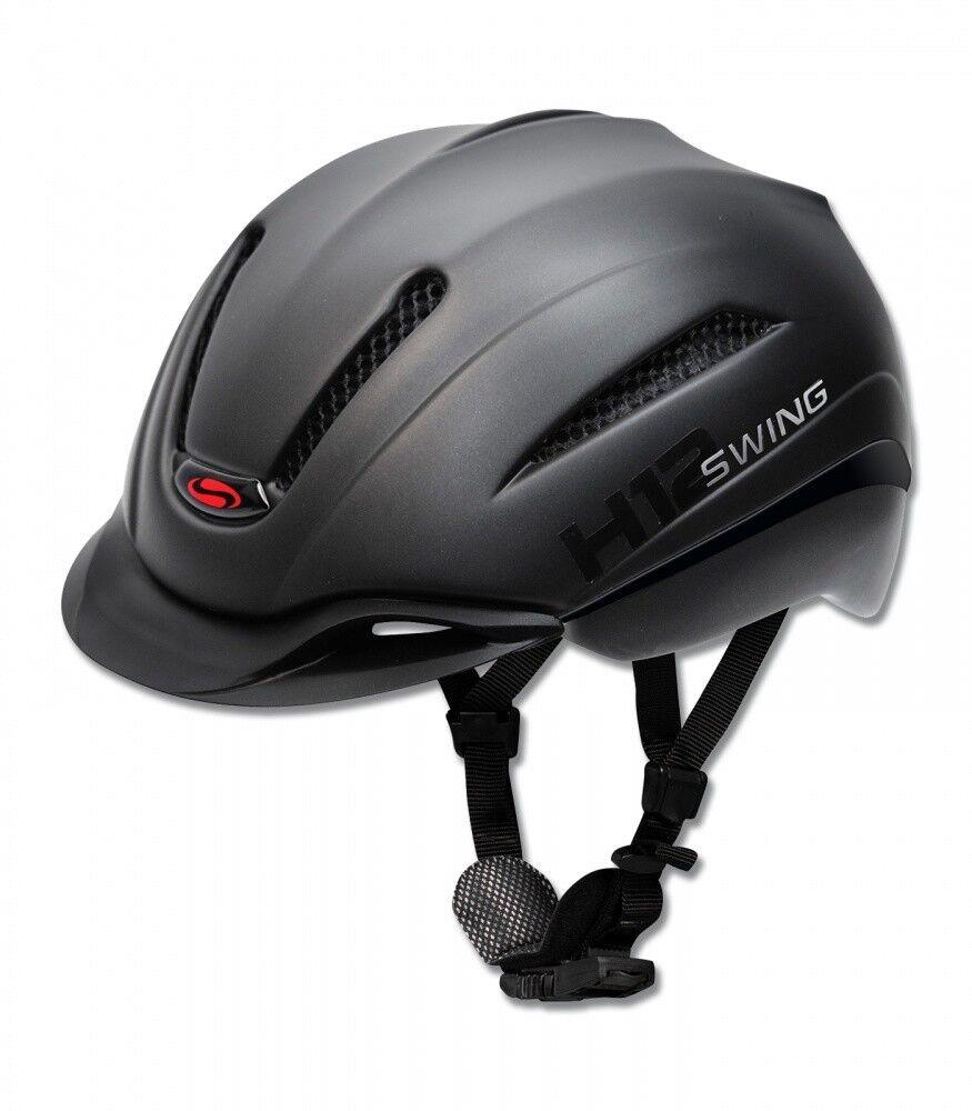Reithelm h12 Ride & bike swing negro mate-nuevo