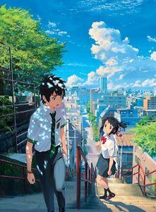 A WA FILM 15 AFFICHES YOUR NAME TAKI TACHIBANA MITSUHA MIYAMIZU KIMI AUCUN N
