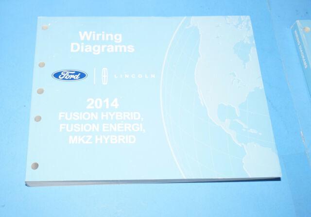 2014 Ford Fusion Hybrid  U0026 Energi Mkz Hybrid Evtm Factory
