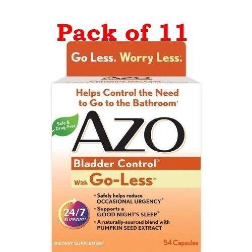 Azo Bladder Control >> Azo Bladder Control 54 Count X 2