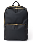 Motile 37682 Vegan Leather Commuter Laptop Backpack Charcoal