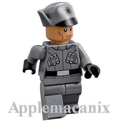 Nuevo Lego Star Wars Minifigura First Order Officer Set 75101 100/% Original