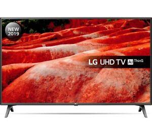 LG-55UM7510PLA-4K-Ultra-HD-HDR-LED-55-039-039-Smart-TV-Black-Damaged-Screen-A