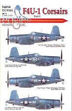 EagleCal Decals 1/32 VOUGHT F4U-1 CORSAIR American WWII Fighter Part 1