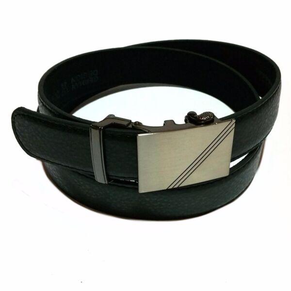 100% Vero Lusso Automatico Cintura Fashion Cintura Fibbia Nero Moda Cintura Per Pantaloni Tuta Elegante E Grazioso
