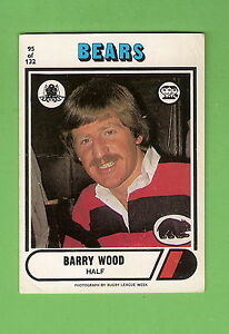 1976-NORTH-SYDNEY-BEARS-SCANLENS-RUGBY-LEAGUE-CARD-95-BARRY-WOOD
