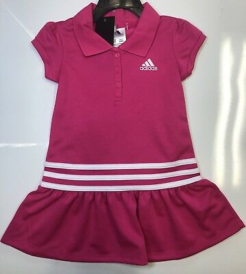 Polo By Ralph Lauren Infant Girls 2-Piece Pink Graphic Dress Set