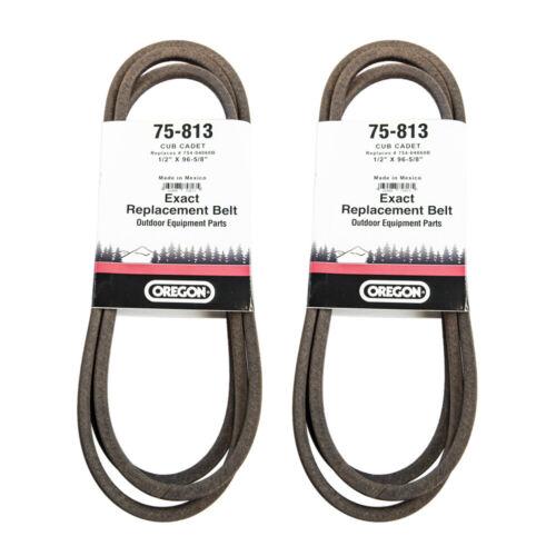 """Oregon 75-813 Deck Belt 1//2/""""x 96-5//8/"""" Cub Cadet LT1042 42/"""" 754-04060 2-PACK"""