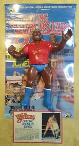 VINTAGE-LJN-WWF-S-D-JONES-RED-SHIRT-WRESTLING-SUPERSTARS-FIGURE-1986-WWE
