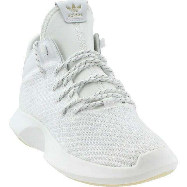 4954efa2f949 adidas Crazy 1 ADV Primeknit Mens Ah2076 White Gold Basketball Shoes ...