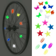 36x Bike Bicycle Wheel Plastic Spoke Bead Kids Children Clip Colored Decoration