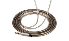 Replace Upgrade Silver Audio Cable Cord For Sennheiser IE80 IE8 IE8I headphones