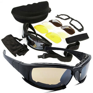6283c14177 Image is loading Tactical-Daisy-X7-Glasses-Military-Goggles-Army-Sunglasses-