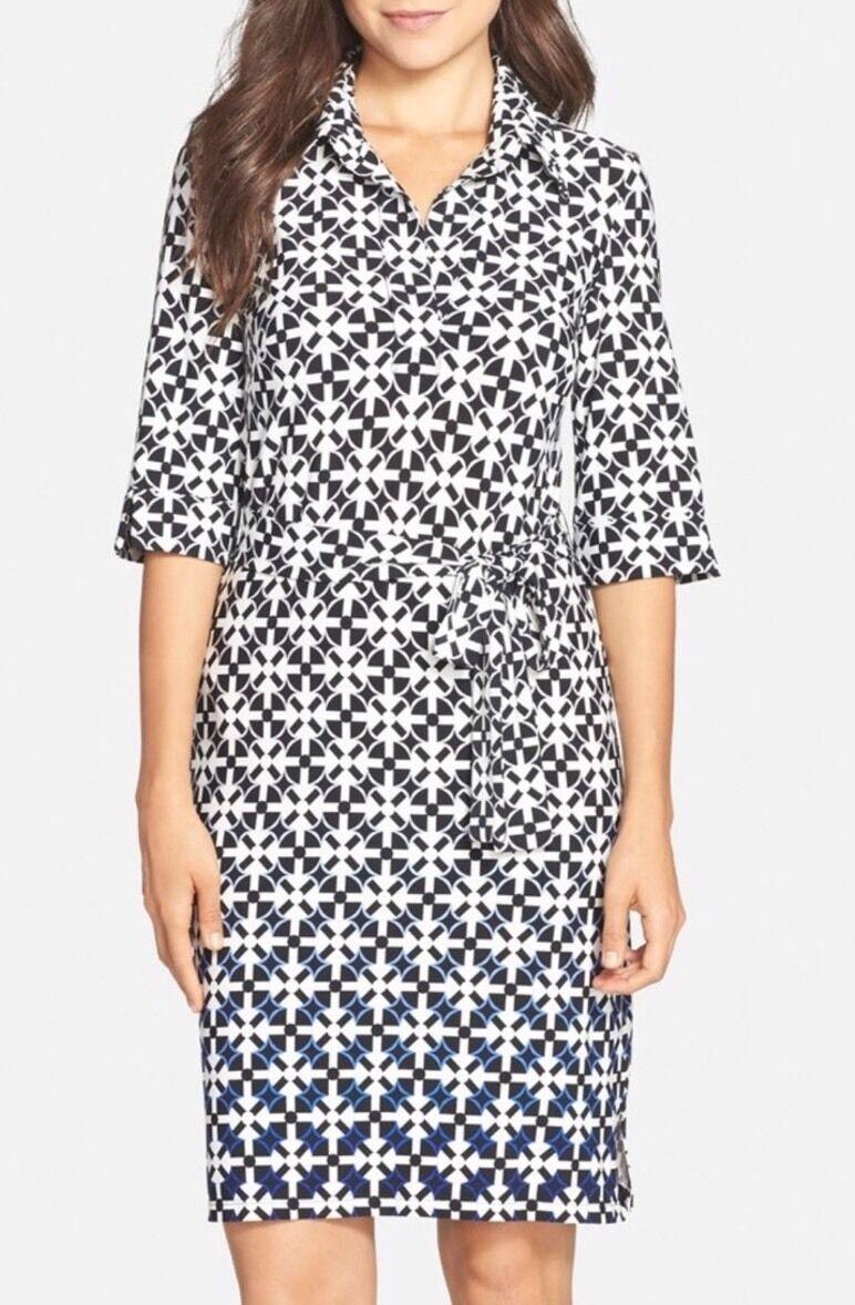 Maggy London Women's Ombre Print Dress  118 Sz 6