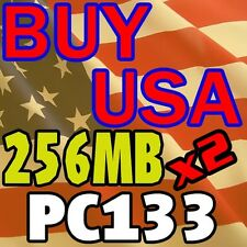 512MB Kit 256 256MB x 2 pc133 LOW DENSITY ram memory