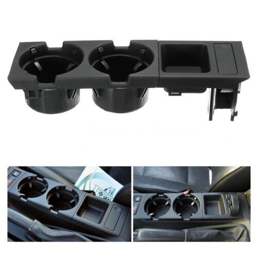 CAR CENTER CONSOLE STORAGE BOX COIN /& CUP HOLDER FOR BMW E46 3SERIES 98-04 M7E8