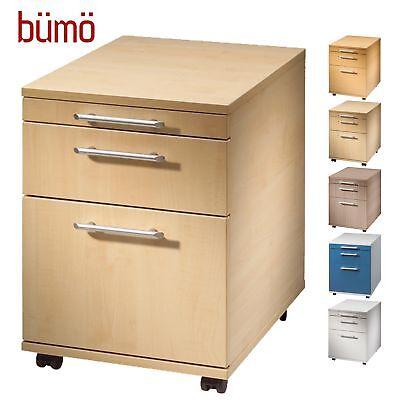Kleinmöbel & Accessoires Büromöbel Rollcontainer Schreibtischcontainer Bürorollcontainer Tischcontainer Grau Bümö®