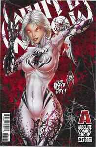 WHITE WIDOW #1 2ND PRINT COVER B JAMIE TYNDALL RED GIANT ENTERTAINMENT COMICS