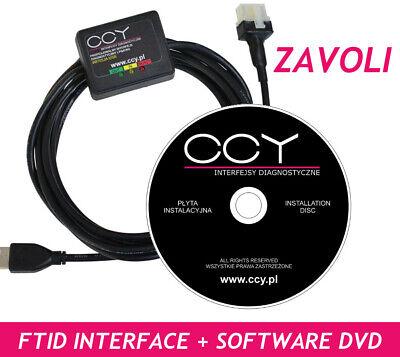 ZAVOLI ALISEI REGAL  Diagnostic Programming Cable Interface USB LPG