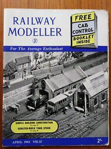 2019 Nouveau Style Railway Modeller Magazine April 1961 Effet éVident
