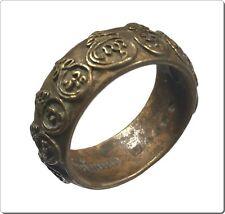 A ring PLOG MEED(MAHA YANT 9 YOD),LP MHUN,Wat Banjan,Thailand,Size 8,ThaiAmulet