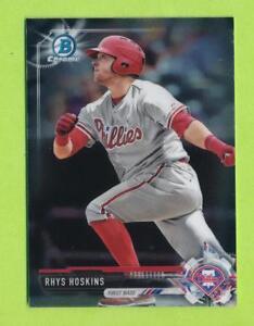 2018-Bowman-Chrome-Prospects-Rhys-Hoskins-BCP117-Philadelphia-Phillies