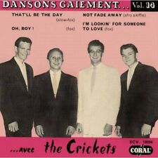 Buddy Holly & The Crickets ( FRENCH 45 EP ) Dansons Gaiement n°14 REPRO REISSUE