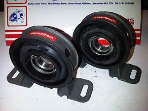 FORD-TRANSIT-2-5-DI-TDI-MK4-MK5-2x-prop-propshaft-centre-roulement-amp-mount-1991-00