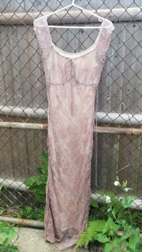 Bonnie Strauss vintage 70s 80s 2 piece maxi dress