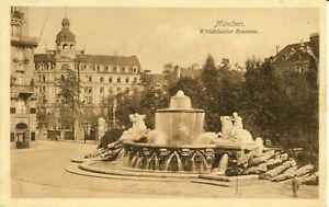 AK München, WittelsbacherBrunnen, gel. 1911 nach Stetten bei Canstatt