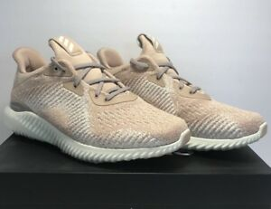 045814e814834 Adidas Women s Size 9.5 Alphabounce 1 Ash Pearl White Athletic ...