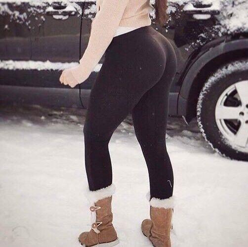 SP Aesthetics Women's Winter Fleece Lined Warm Thermal ...