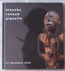 100% De Qualité Catal. Binoche Renaud Giquello 2008 Archéologie Art Africain Océanien Asiatique