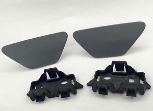 1 Pair Headlight Washer Nozzle Covers Primed For BMW 5 Series 528i 535i F10 F11