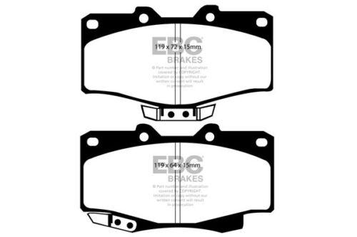 90 /> 94 LJ78 EBC Ultimax Front Brake Pads for Toyota Landcruiser 2.4 TD