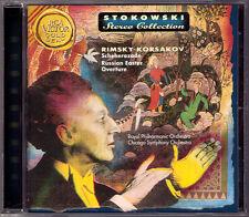 Leopold STOKOWSKI: RIMSKY-KORSAKOV Scheherazade Russian Easter Festival CD Dolby
