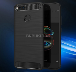 For-Xiaomi-Mi-A1-Carbon-Fibre-Gel-Case-Cover-Shockproof-Ultra-Slim